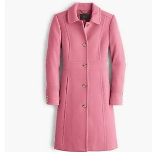 NWT J.crew lady day in guava berry thinsalute